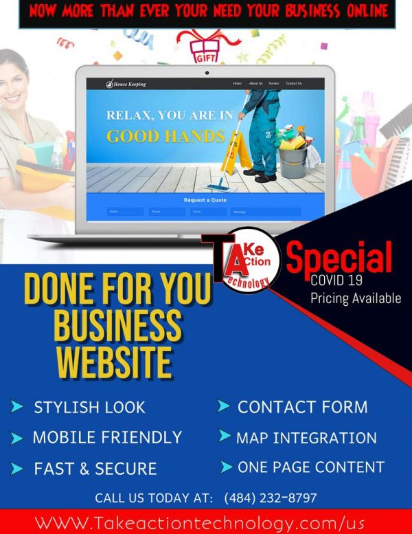 done for you business website